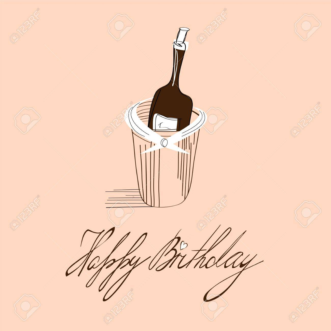 Template For Birthday Card With Inscription Happy Birthday Royalty – Template Happy Birthday Card