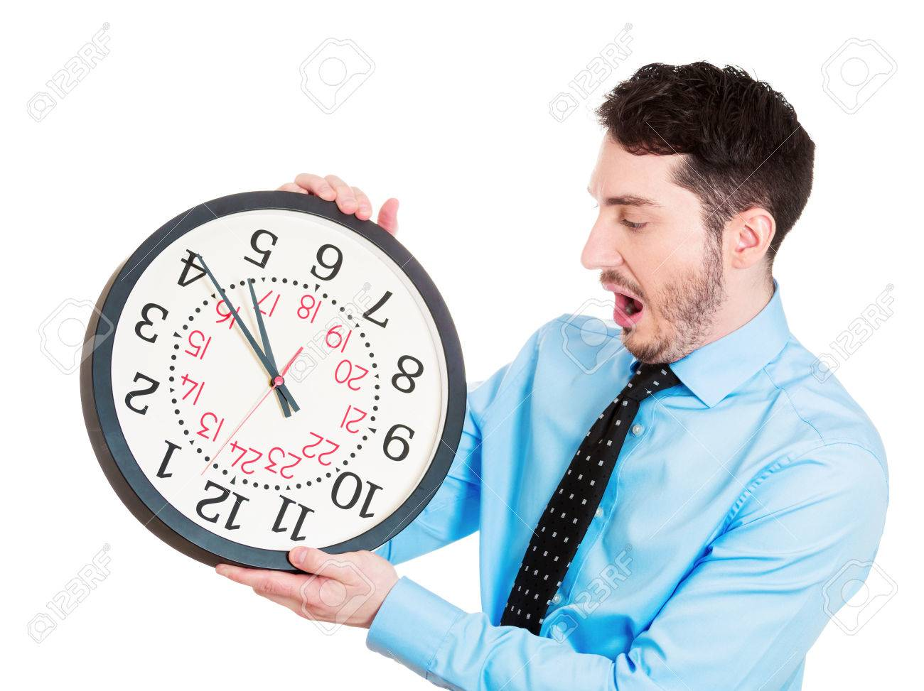 Eres de los que vive de afán y no tienen tiempo?