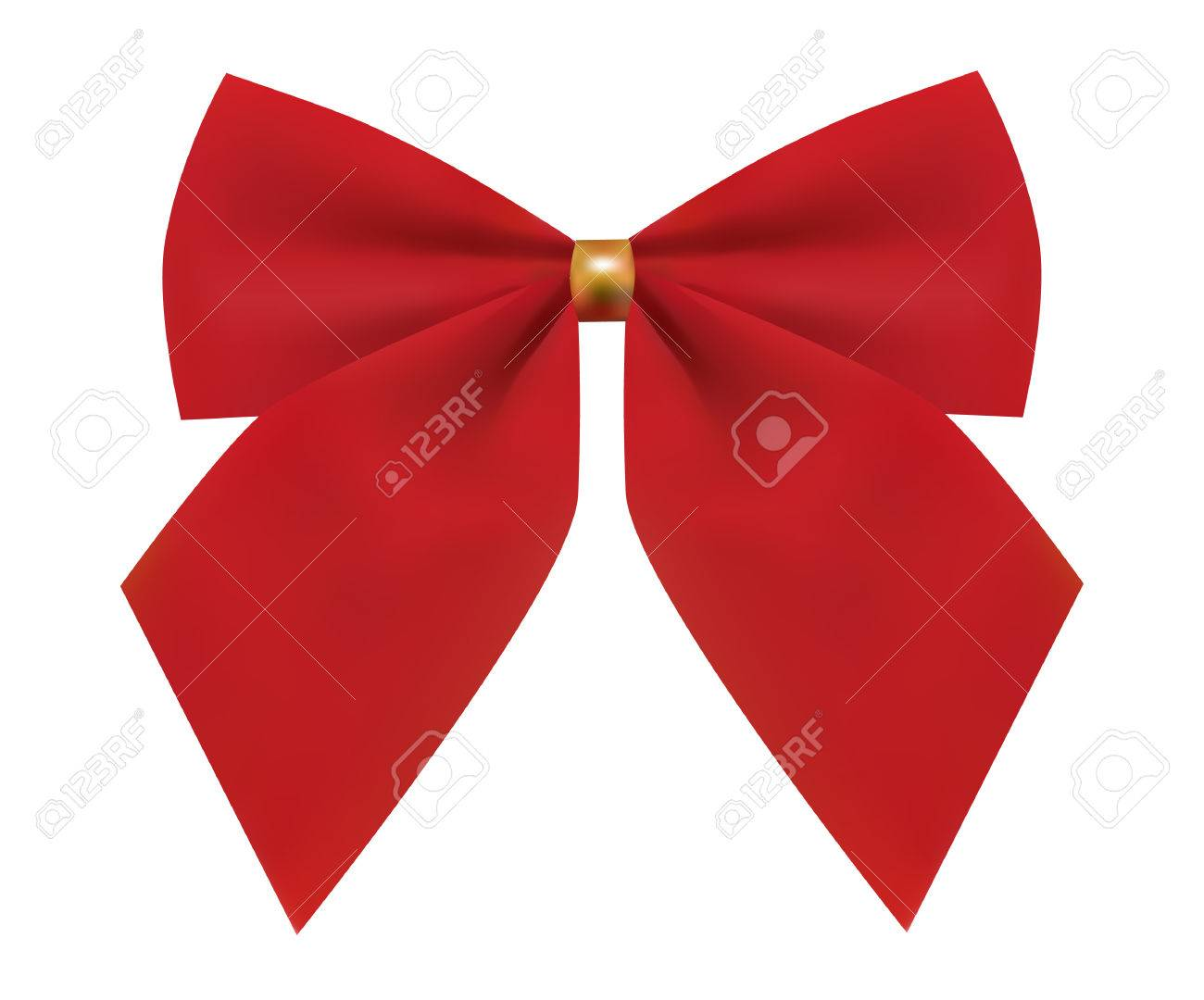 red bow Stock Vector - 4022595