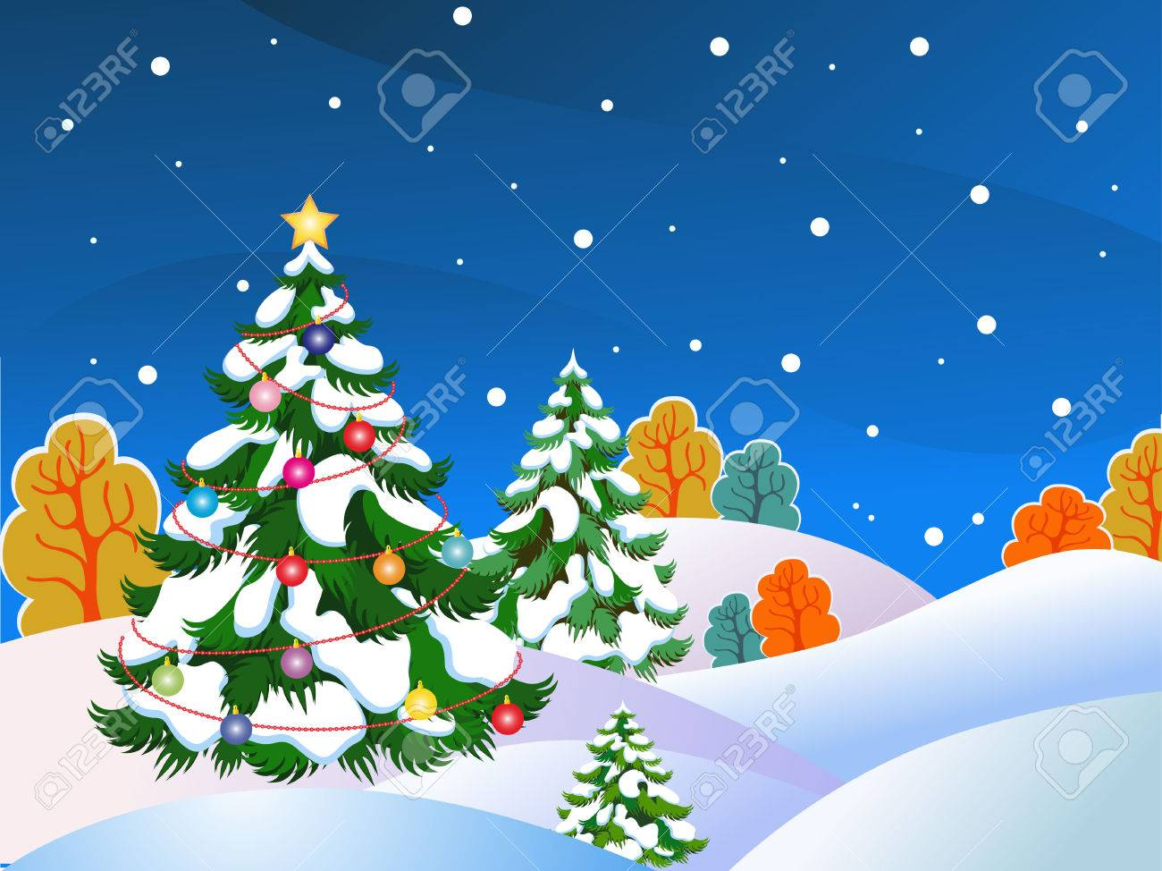 Vector Christmas tree Stock Vector - 5966768
