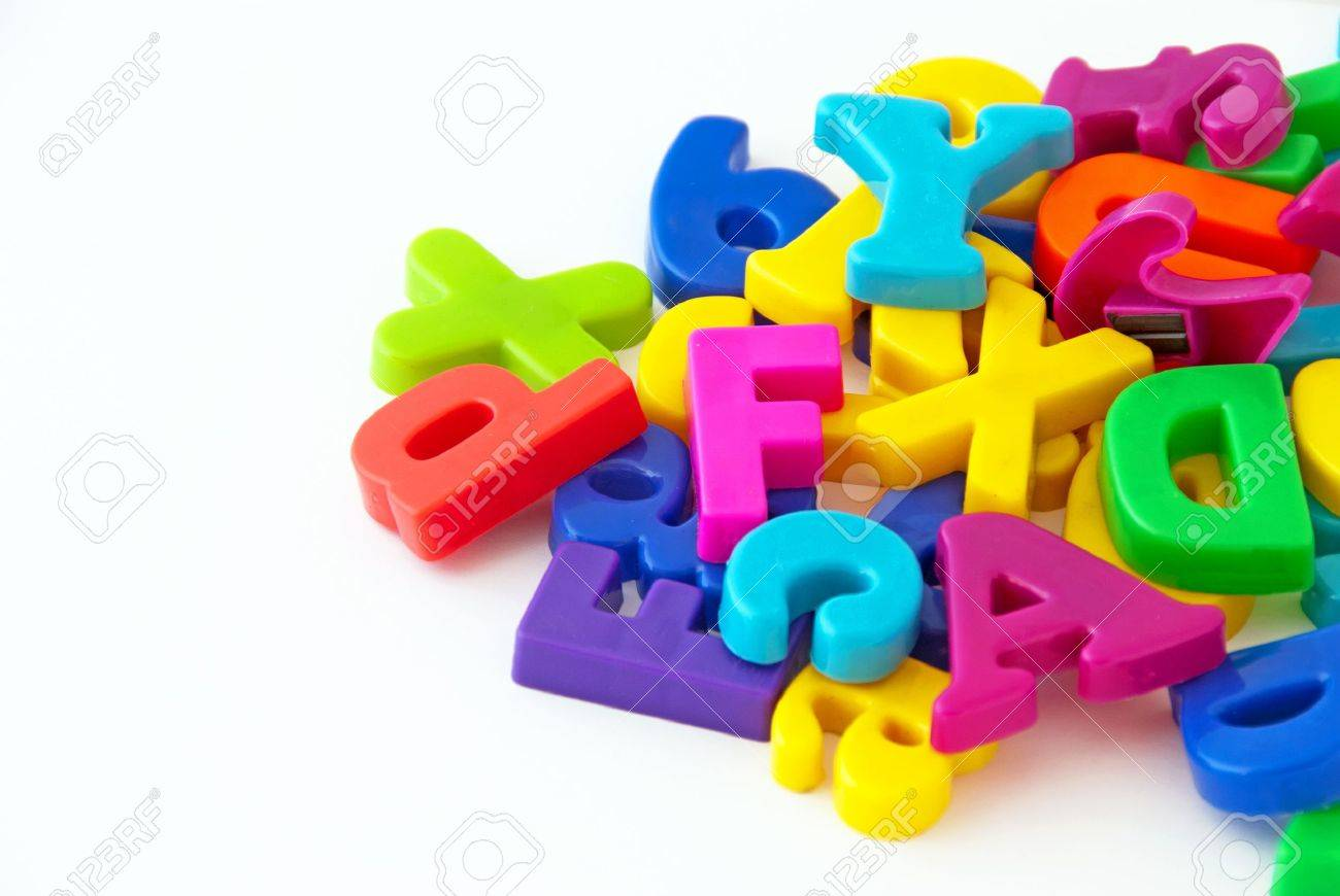 background image of magnetic alphabet letters stock photo 10306675