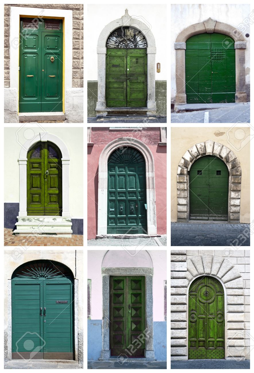 Ordinaire Green Front Doors