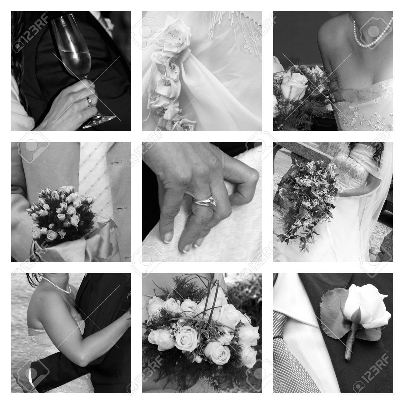 wedding collage Stock Photo - 10519586