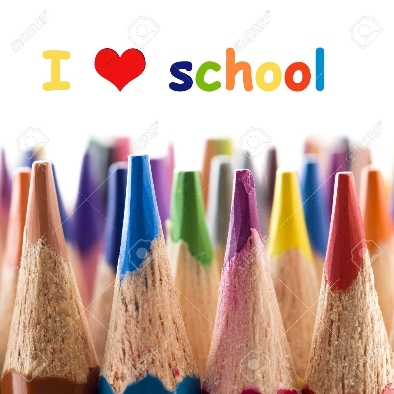 I love school Stock Photo - 11855140