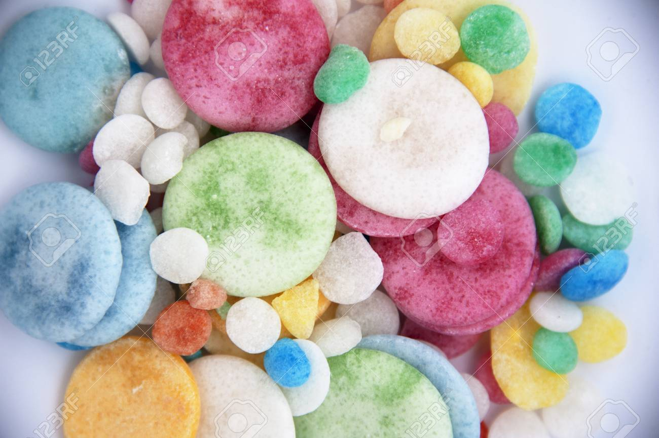 Many colorful sugar candy - texture theme Stock Photo - 17514038