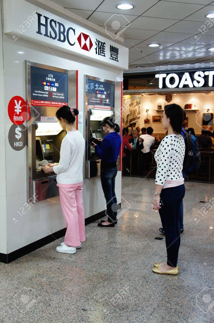 Mar 23, 2012 - Hong Kong Island, Hong Kong  A local awaiting