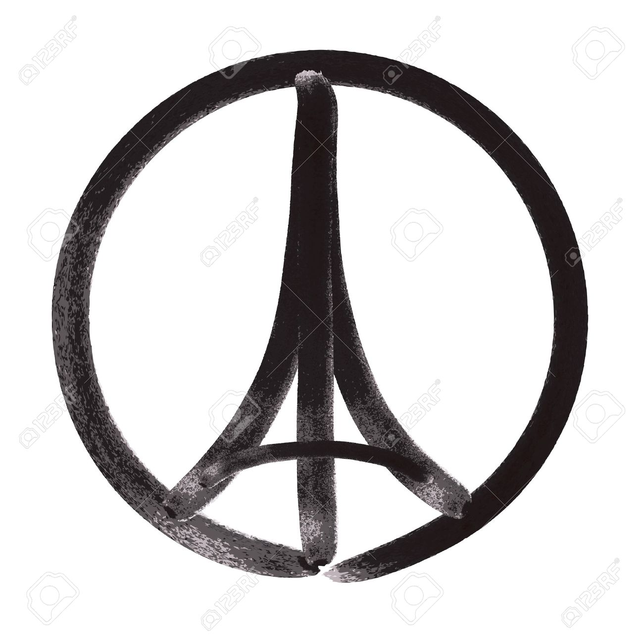Tribute to all victims of paris terrorist attact illustration tribute to all victims of paris terrorist attact illustration made by marker brush of a symbol biocorpaavc Gallery