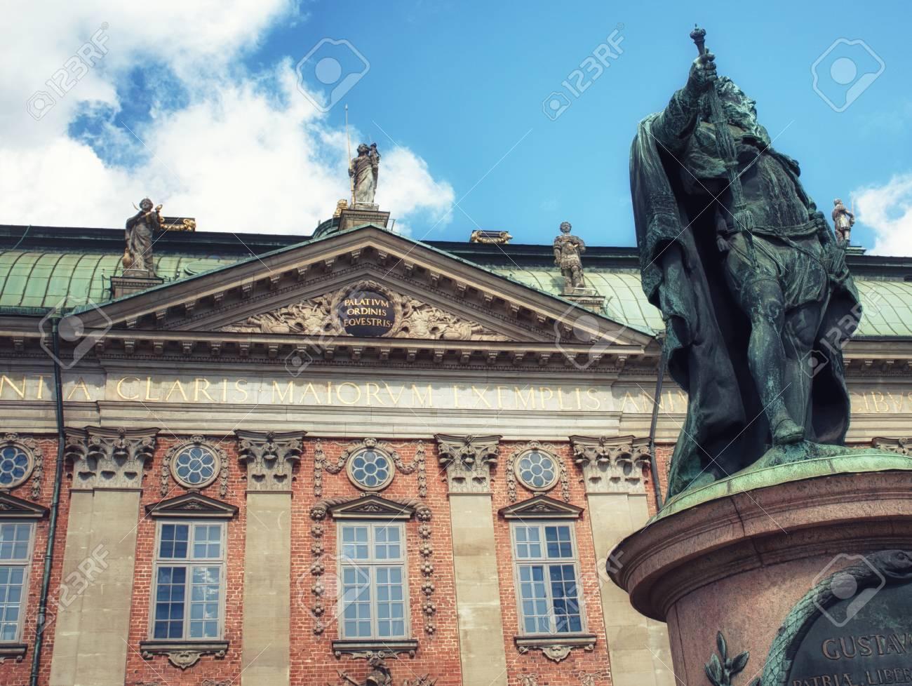 La Maison De La Suede la maison de la noblesse à stockholm, en suède