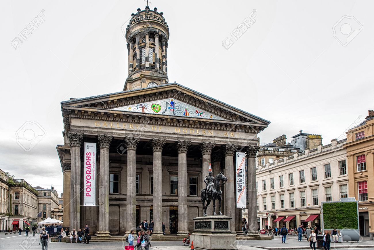 Glasgow Scotland July 07 2017 Gallery Of Modern Art Goma