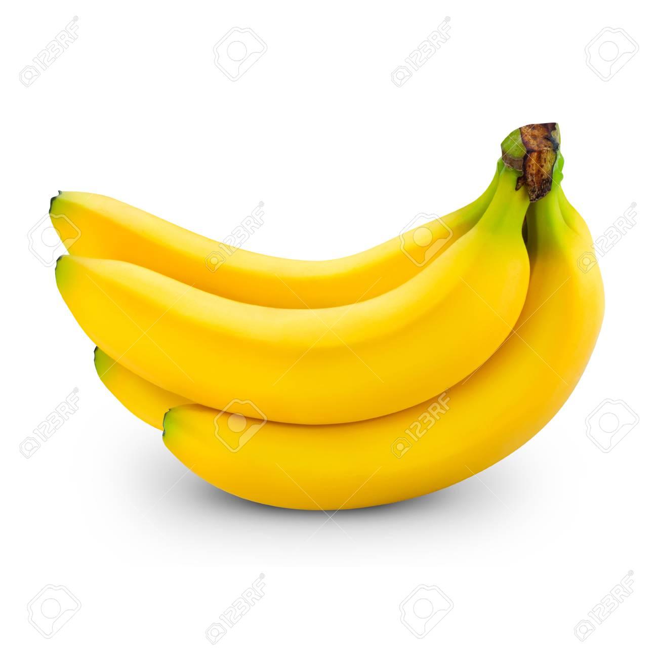 banana isolated on white - 98294112