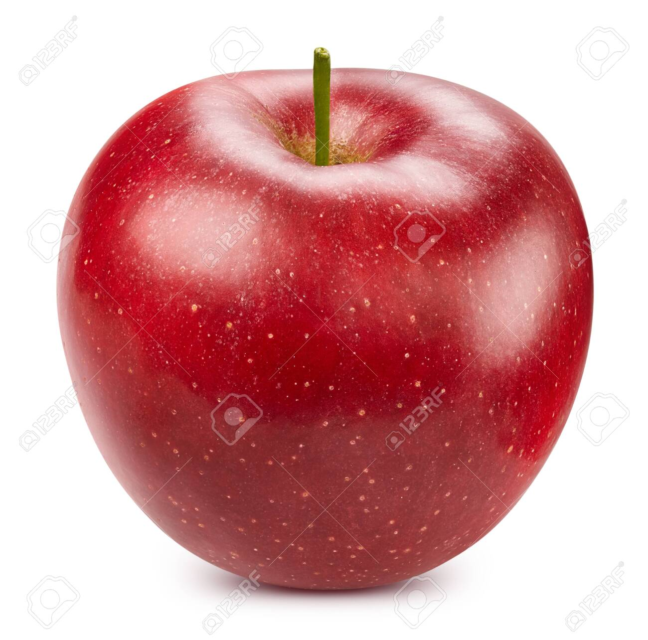 Red apple isolated on white - 128618034