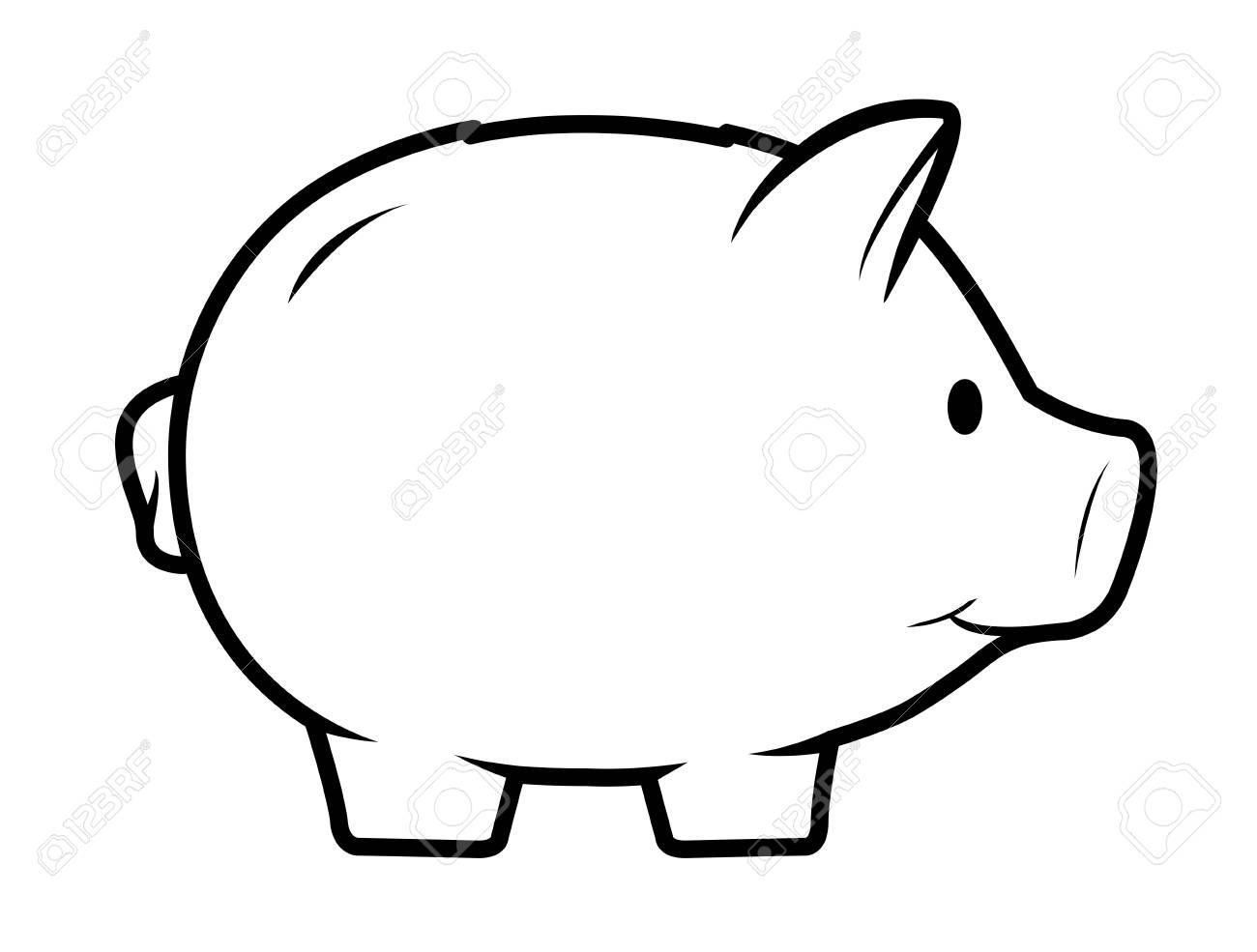 Money Bank Drawing
