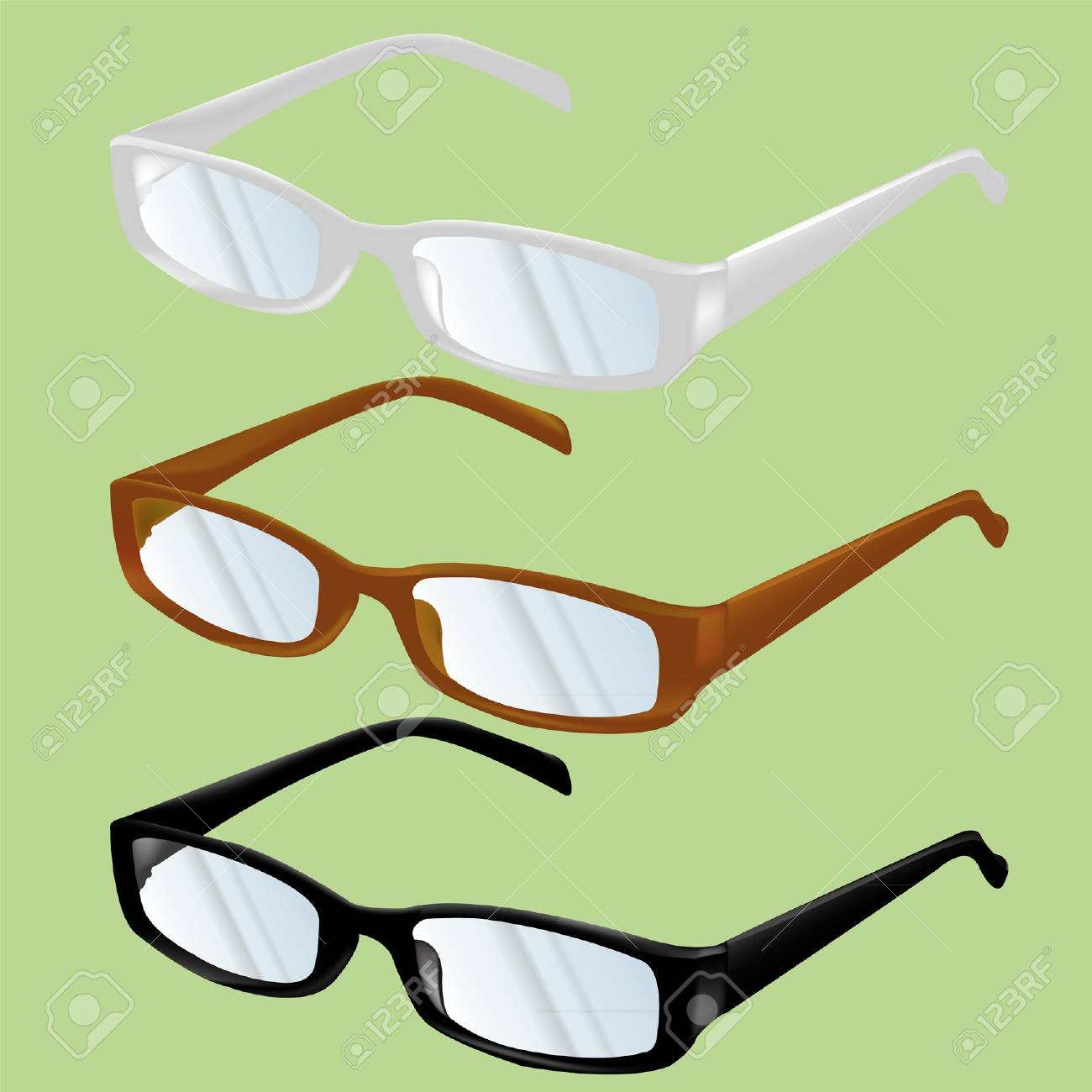 spectacles Stock Vector - 16211667
