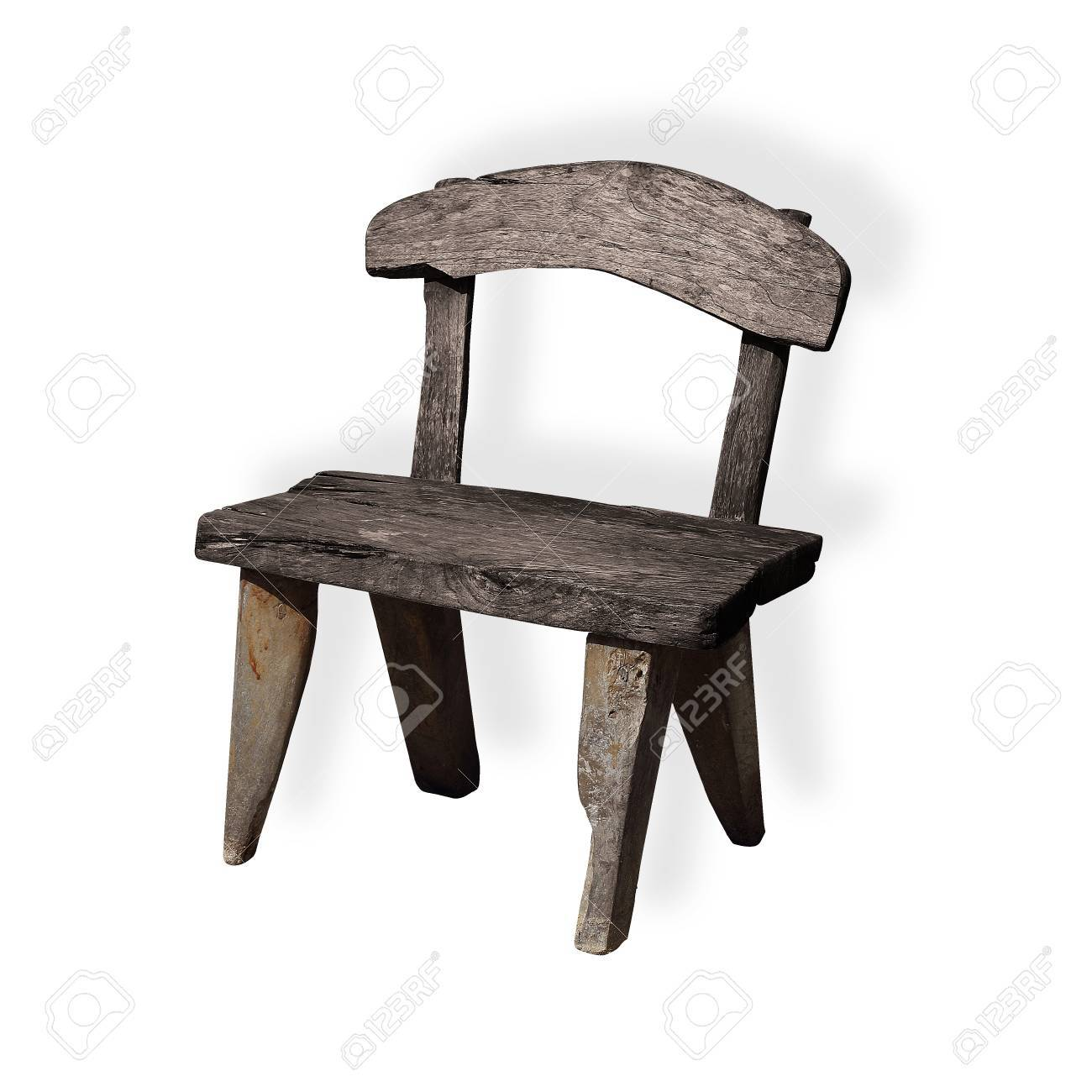 unique wooden chair