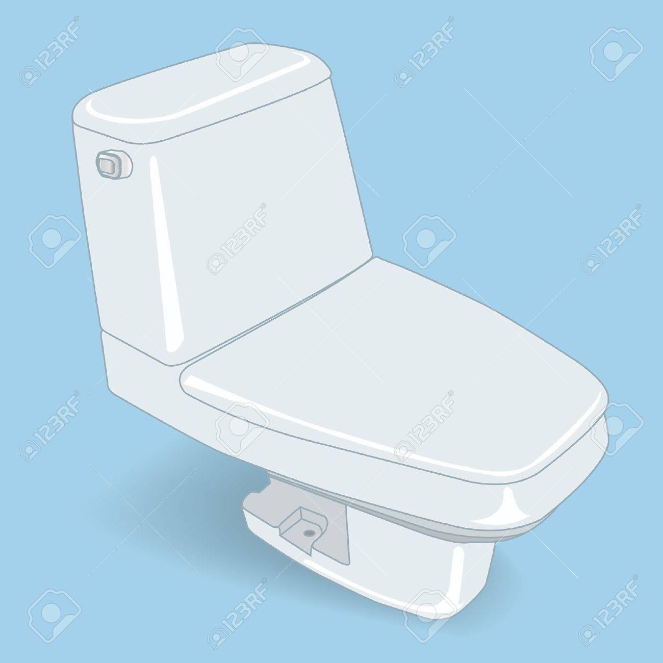 toilet vector Stock Vector - 17213080