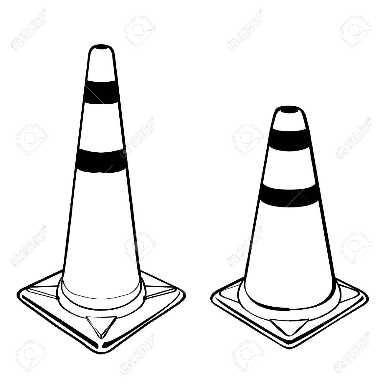 traffic cone Stock Vector - 19279779