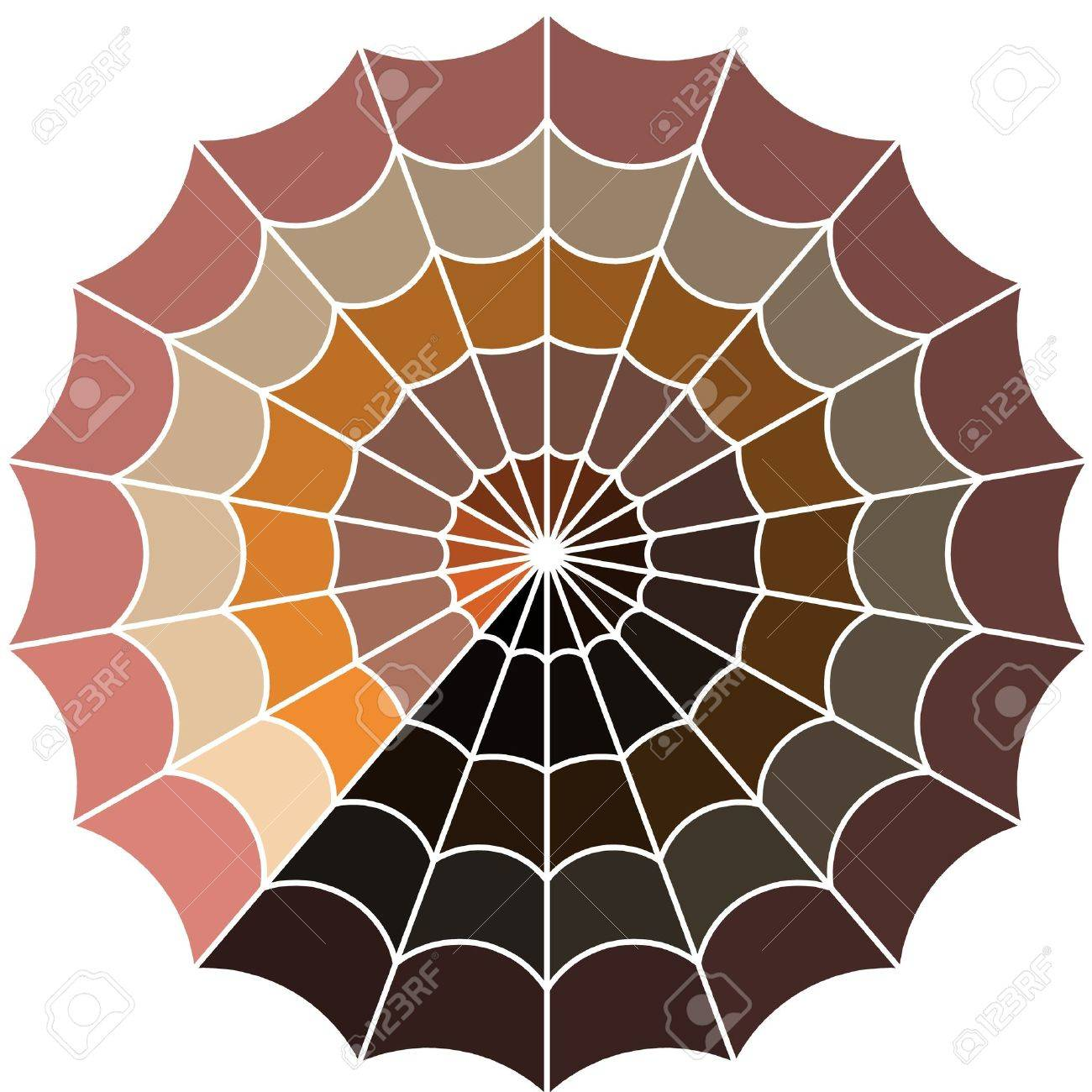 cobweb line art Stock Vector - 19279801