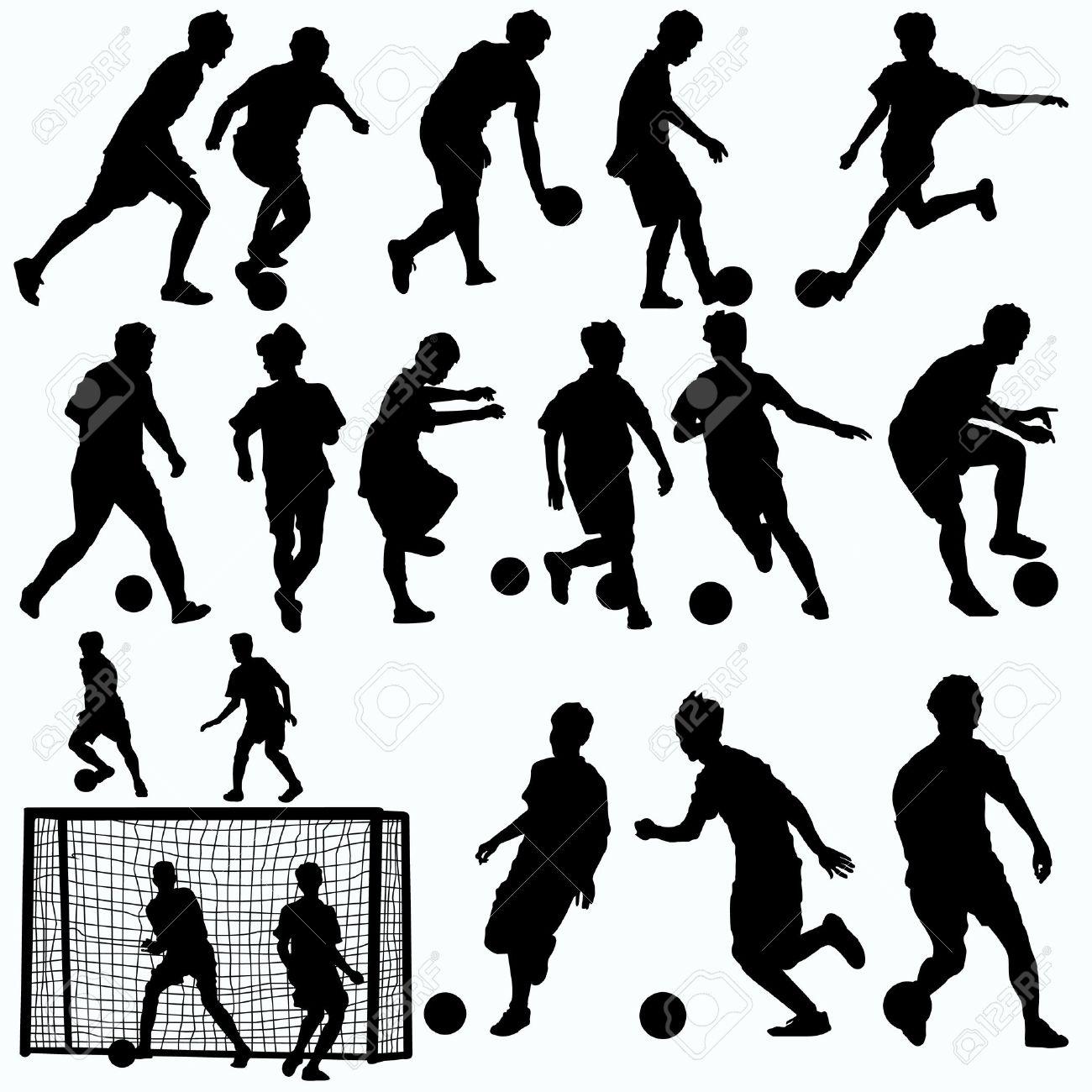De futbol sala dibujos animados