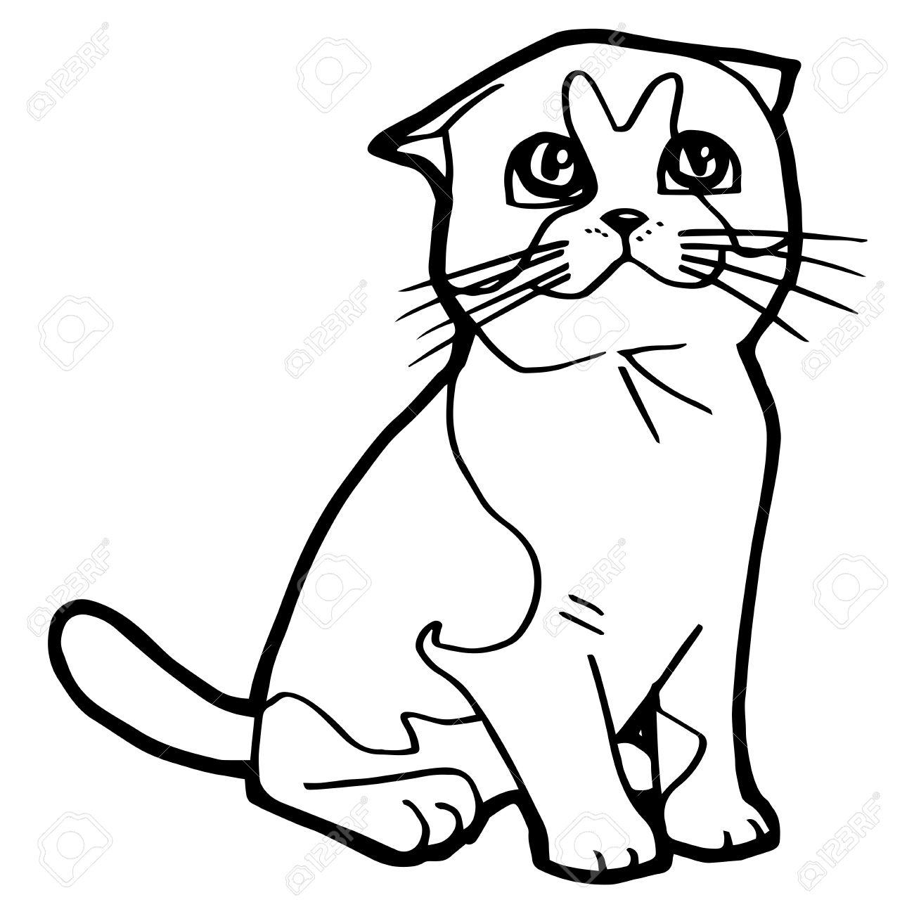 Excepcional Cuadro De Colorear Gato Modelo - Enmarcado Para Colorear ...