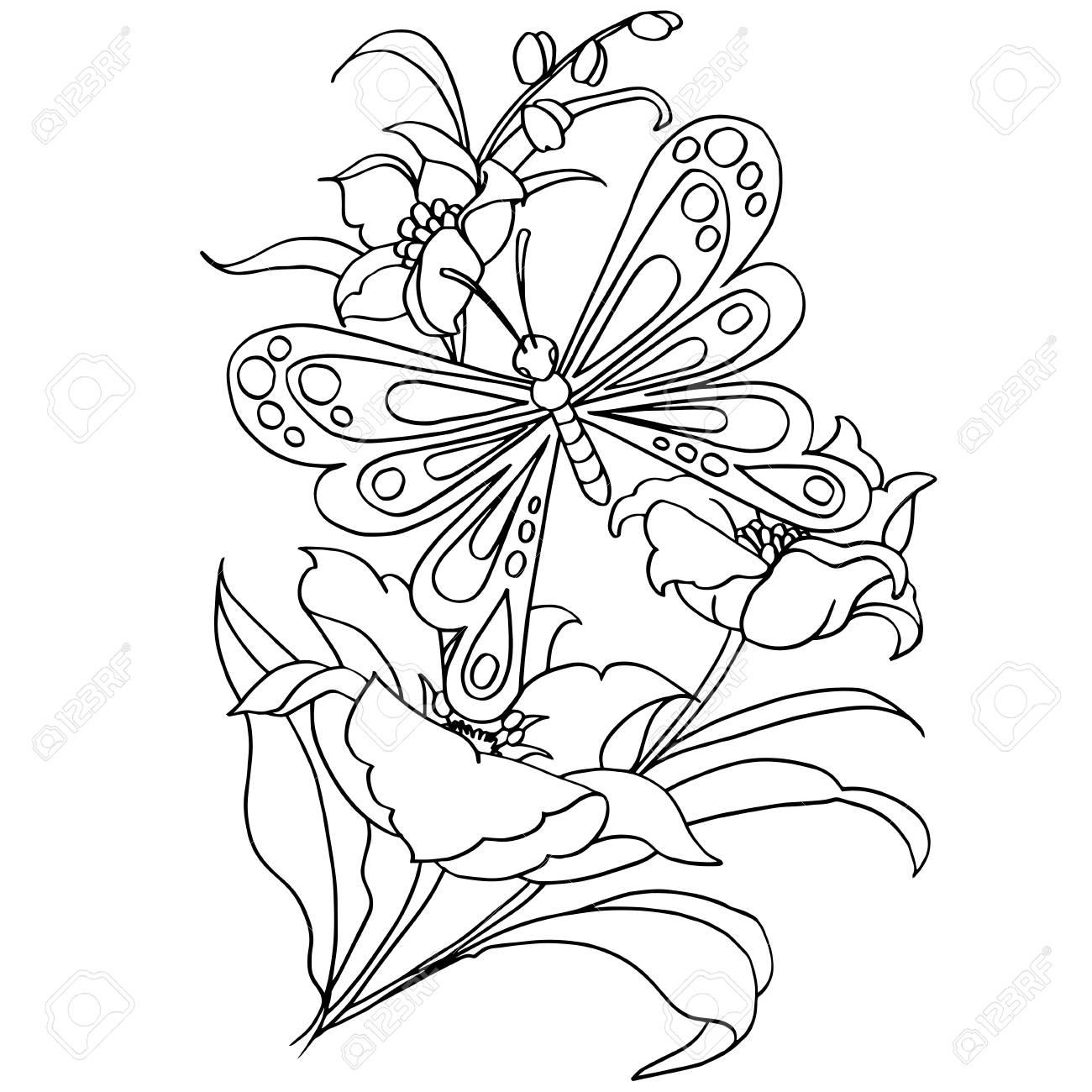 Dibujo De Mariposa Animada Para Colorear Imagesacolorierwebsite