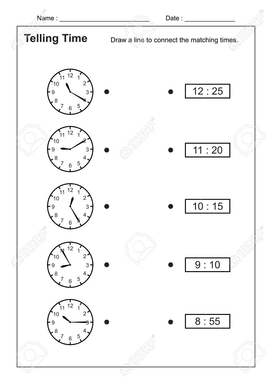 graphic about Telling Time Printable Game named Telling Period Telling the Season Train for Small children Season Worksheets..