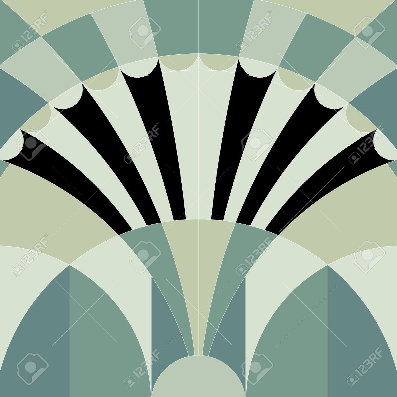art deco graphic background Stock Photo - 15462586