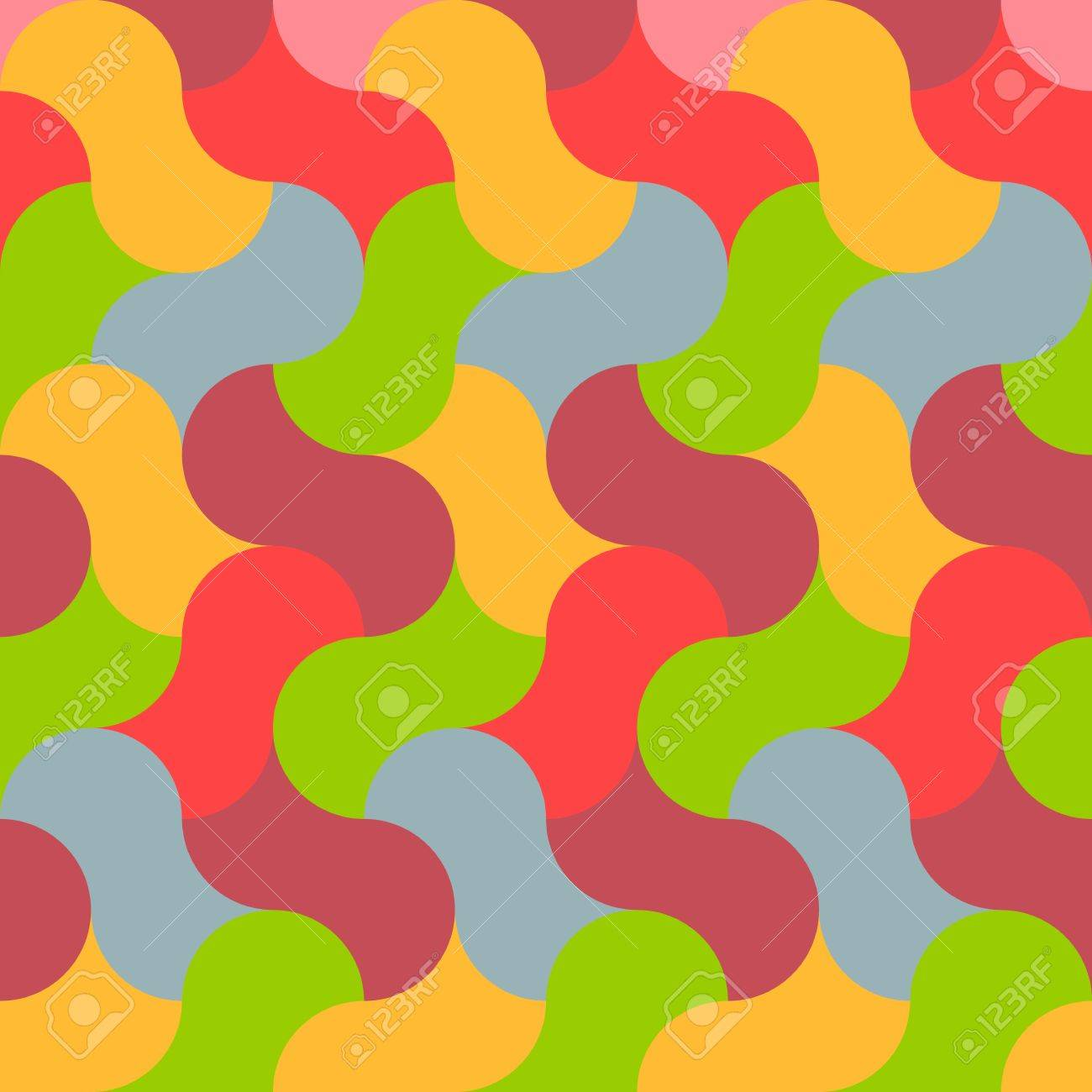 abstract retro seamless graphic pattern Stock Vector - 18817235