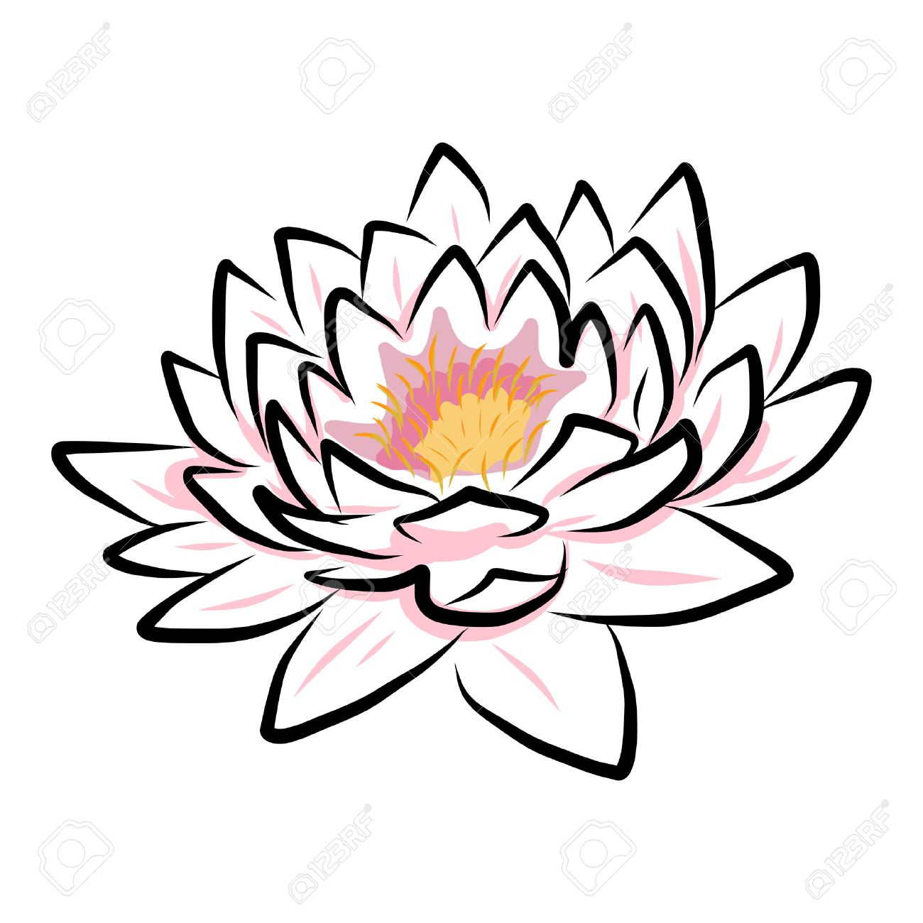 23864476 hand drawing water lily lotus flower vector eps10 stock 23864476 hand drawing water lily lotus flower vector eps10 stock vectorg 13001300 izmirmasajfo Image collections