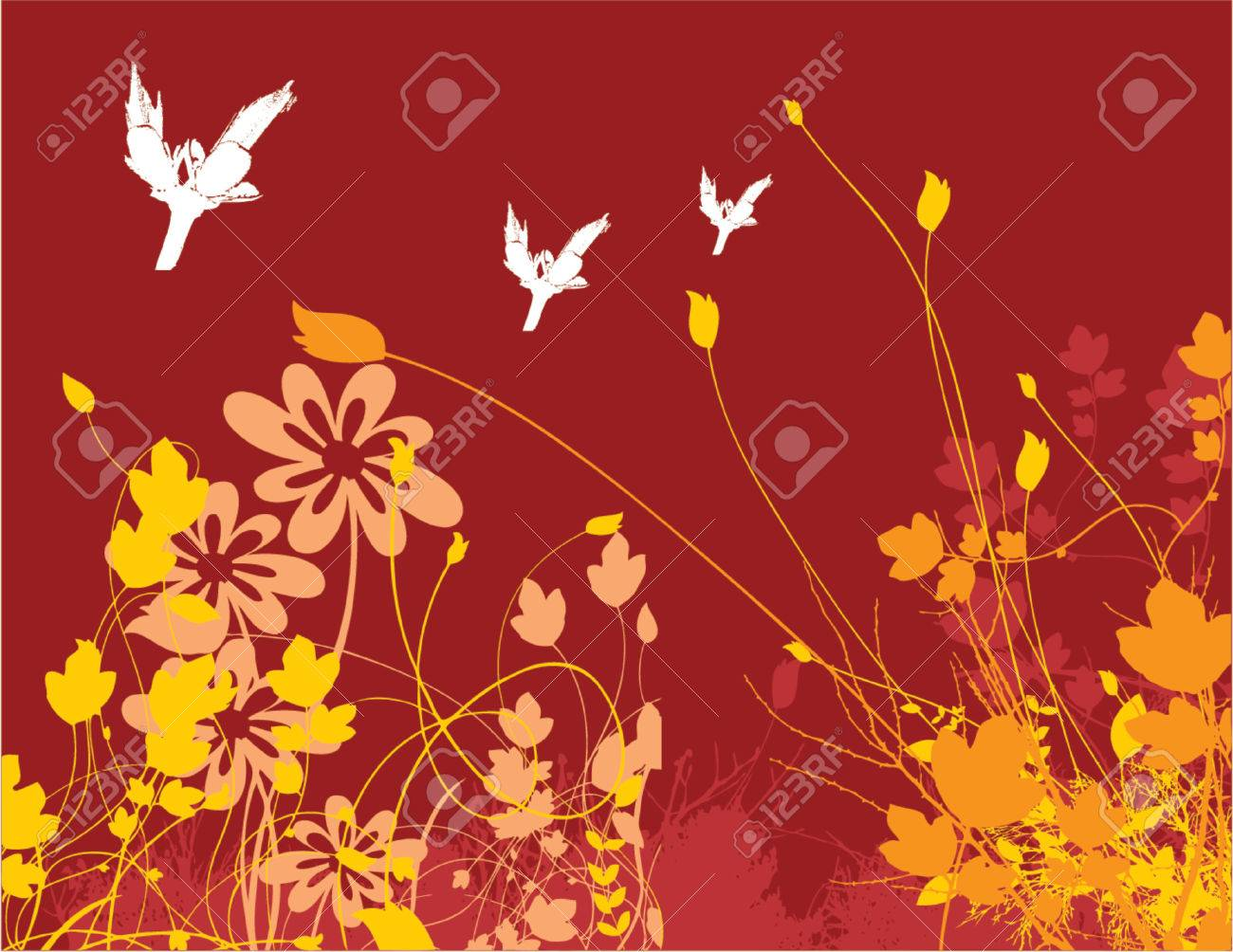 flower chaos Stock Vector - 411810