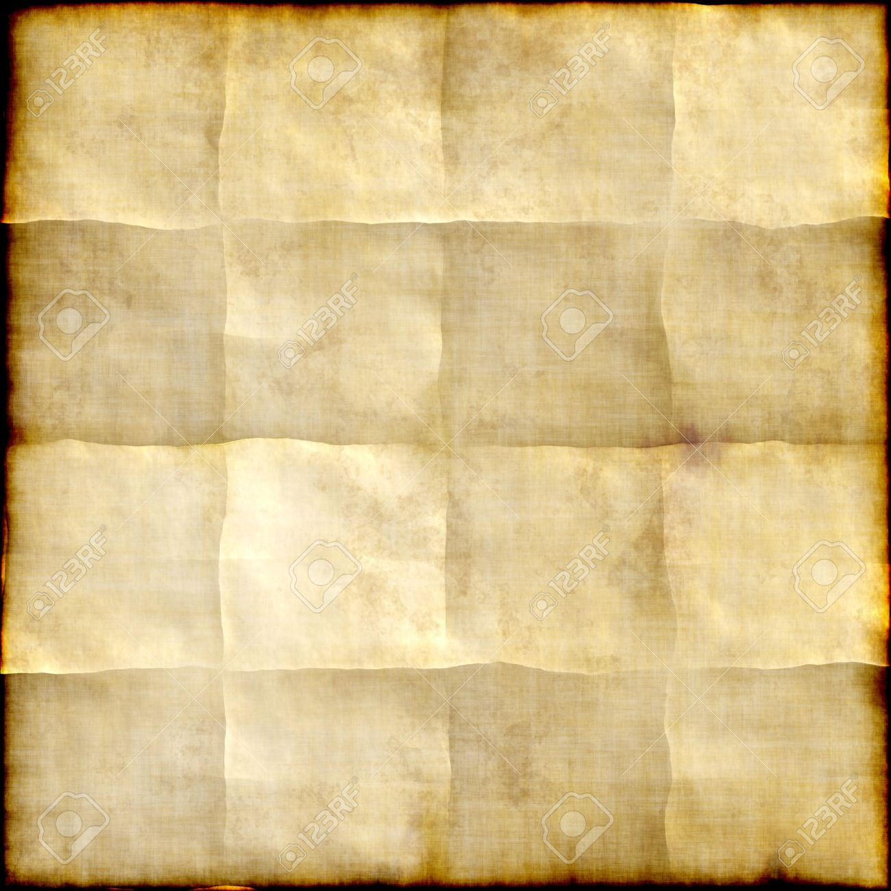 Old Paper Background With Traces Of Folds Stock Photo Picture And Royalty Free Image Image 13663560