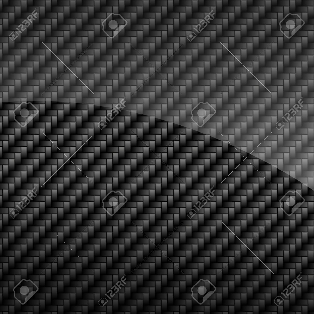 Black Glossy Carbon Fiber Background Or Texture Stock Photo ...