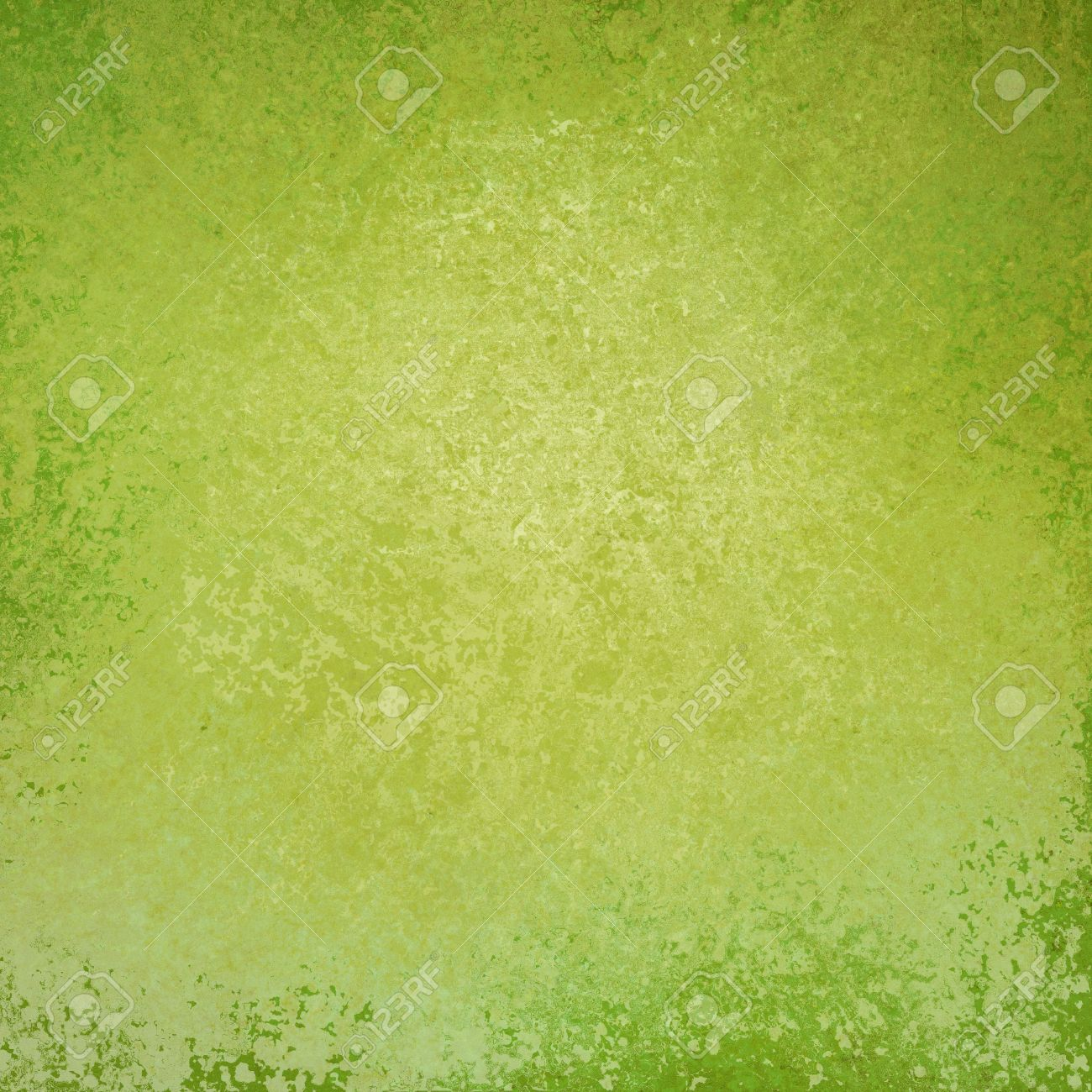 Solid Green Background Design With Distressed Vintage Texture ...