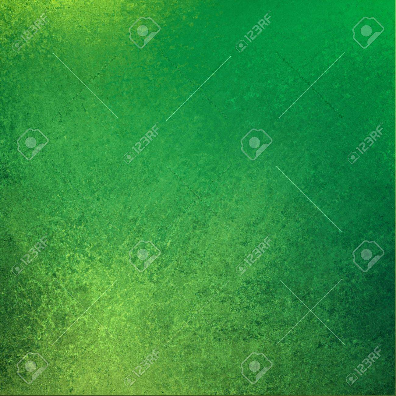 Green Background Vintage Grunge Texture Design Yellow Color Shiny Wall Paint