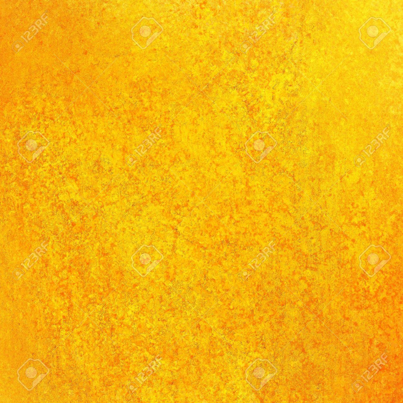 Abstract Gold Background Yellow Orange, Light Faint Vintage Grunge ...