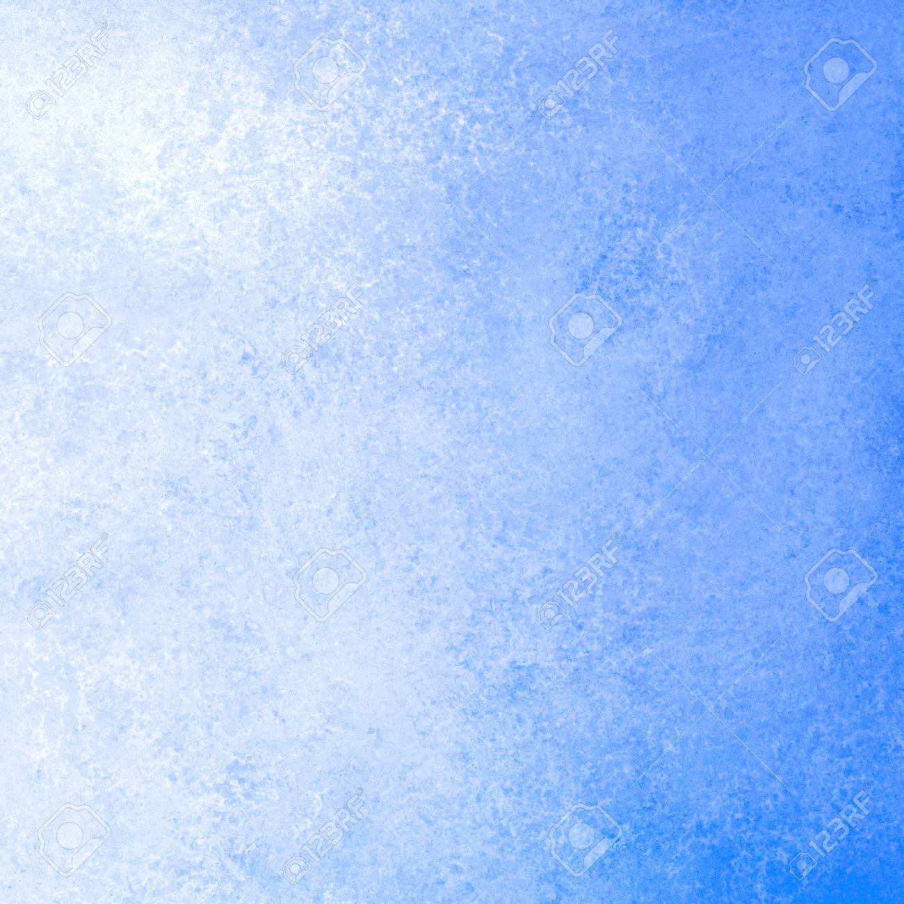 Faded Blue And White Background With Grungy Texture And Gradient ...