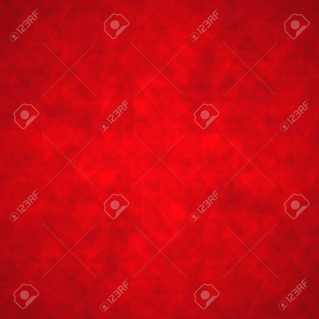 Abstract Triangle Background With Red Geometric Angles And Lines ...