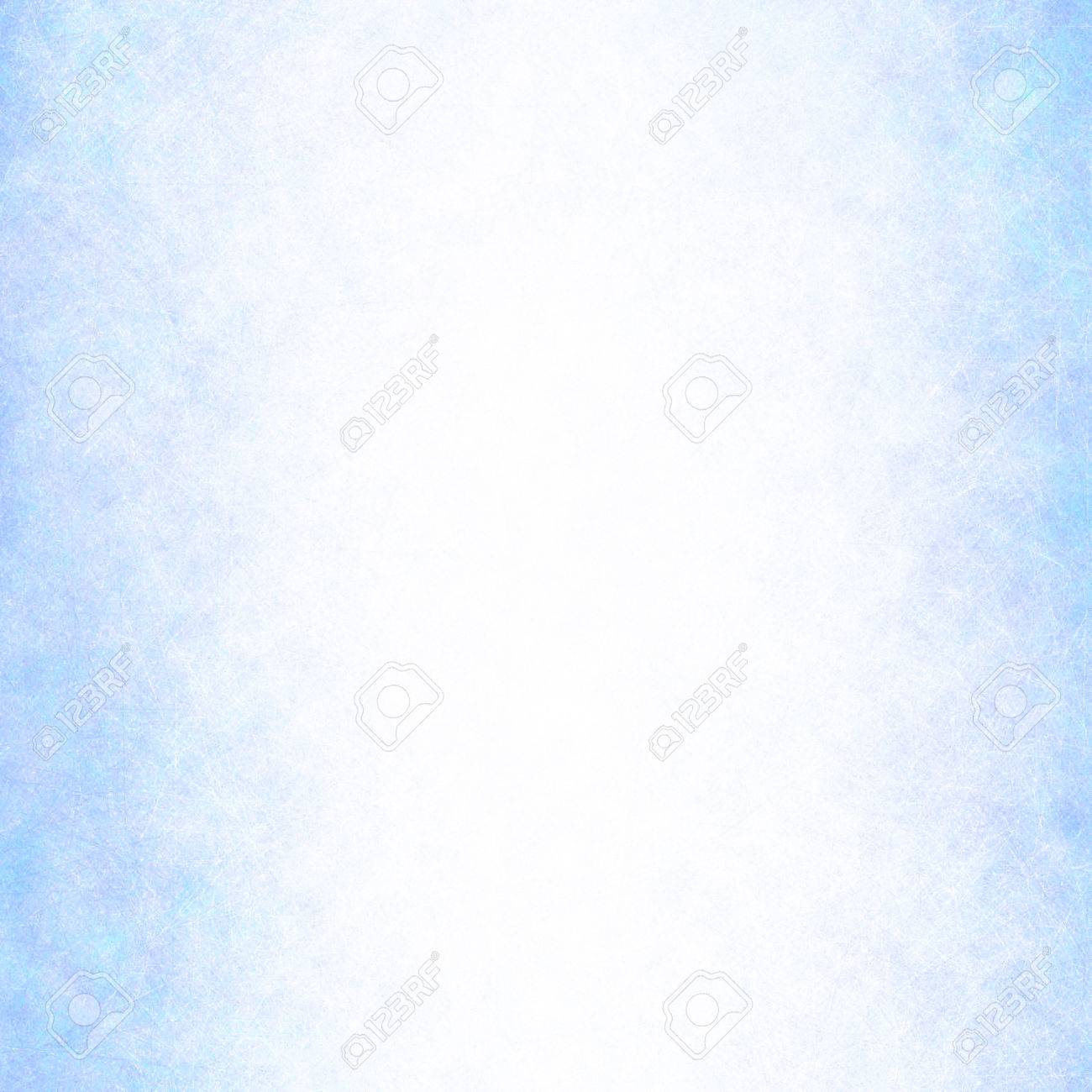 White Background With Blue Textured Border Or Canvas Line Brush ...