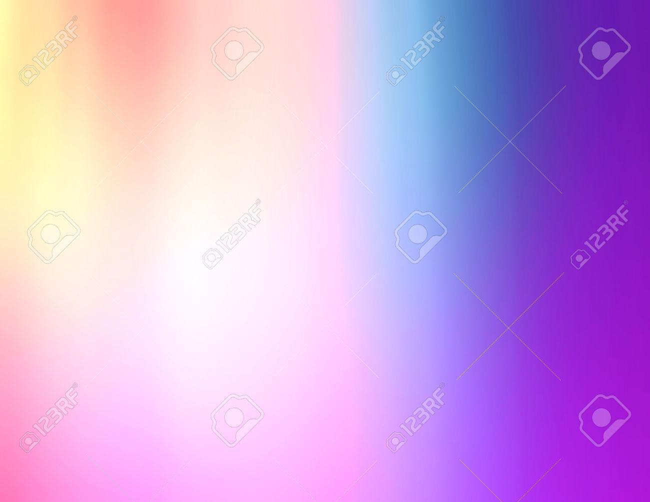 Dynamique De Fond De Degrade De Couleur De Floue Peche Rose Bleu