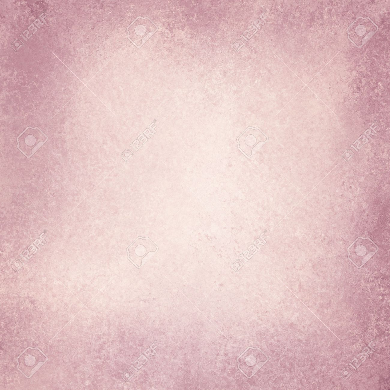 Old Pink Paper Background Off White Vintage With Burnt Edges Or Grunge Border Design