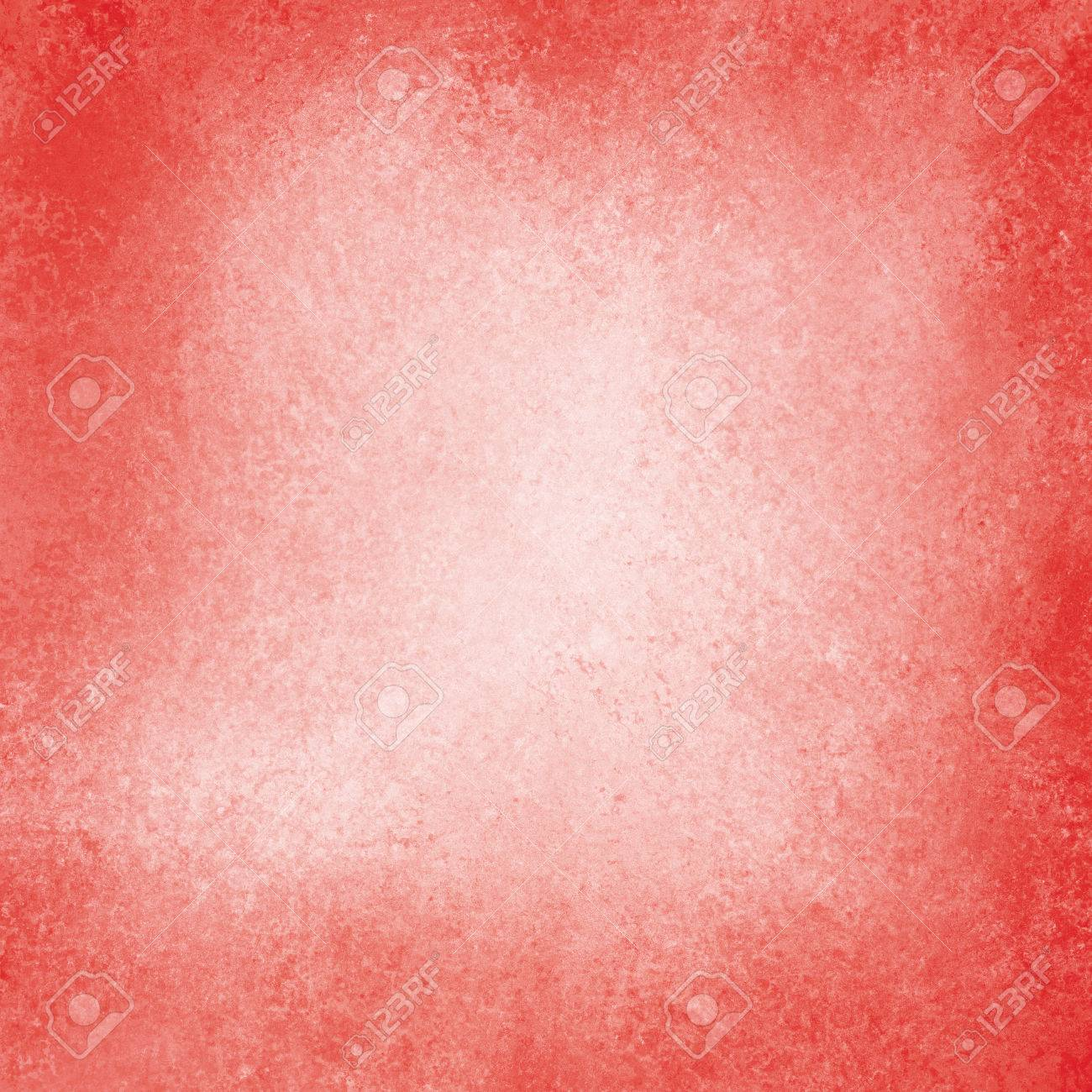 Old Red Paper Background Off White Center Vintage With Burnt Edges Or Grunge
