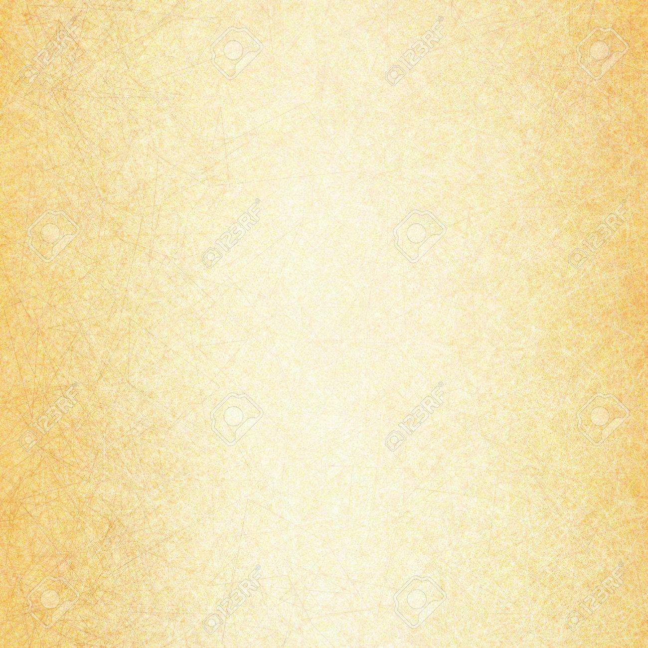 Yellow Gold Background With Textured Linen Or Canvas Line Brush ...