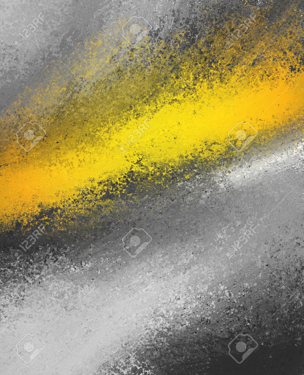 Gold color splash on black and white background stock photo 44187785