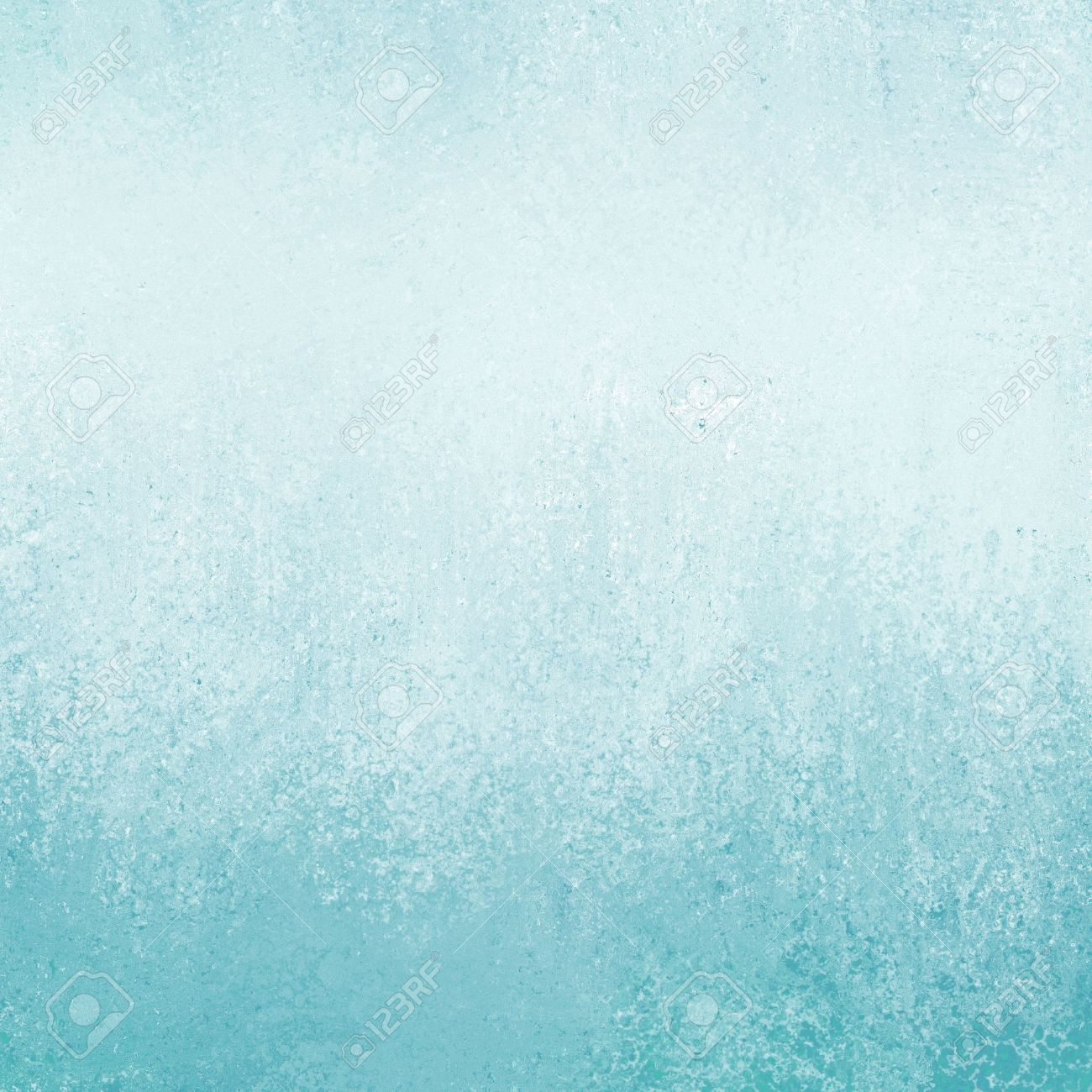pastel blue background with texture and grunge border stock photo