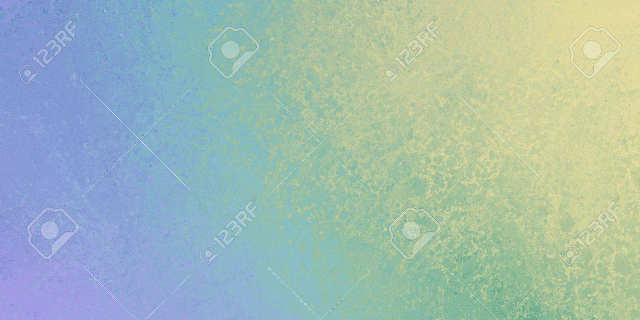 Website soft colors - Stock Photo Purple Blue Green And Yellow Gradient Background With Grunge Or Sponged Design Soft Colors And Rough Distressed Texture Blank Website Or