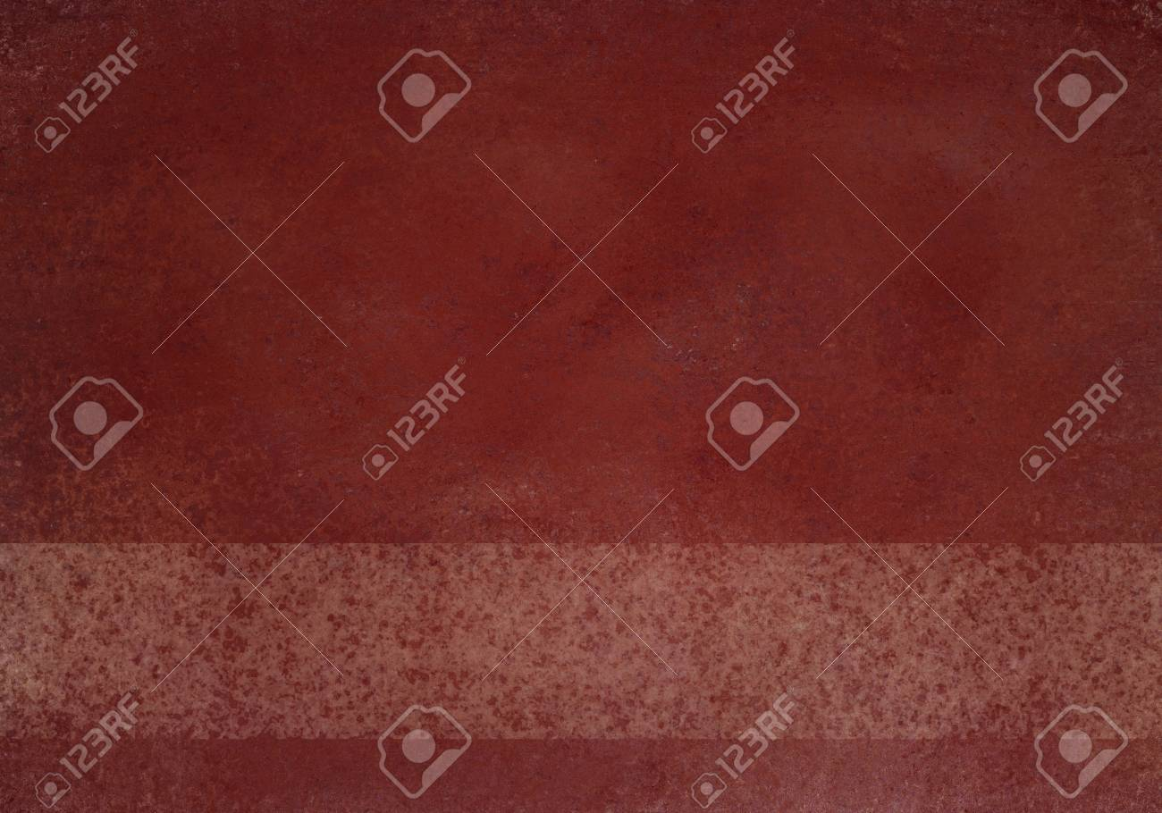 Rust Red Background With Faded White Striped Fine Line Scratch Texture Old Vintage