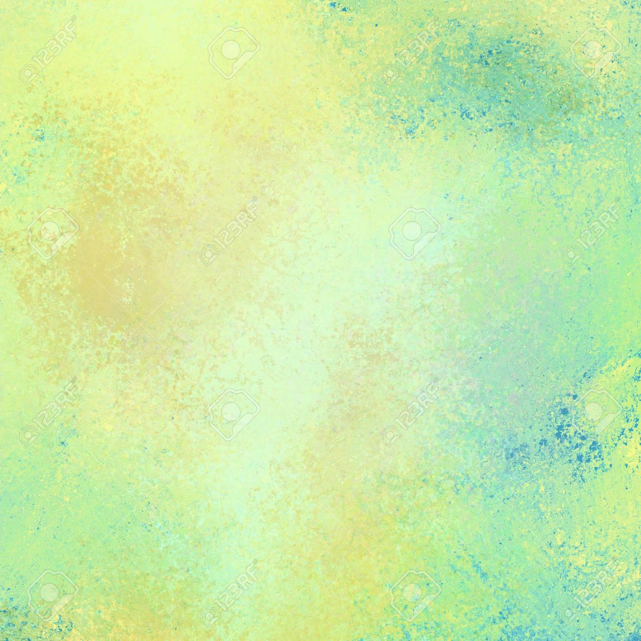 Old Vintage Gold And Blue Background Illustration, Distressed ...