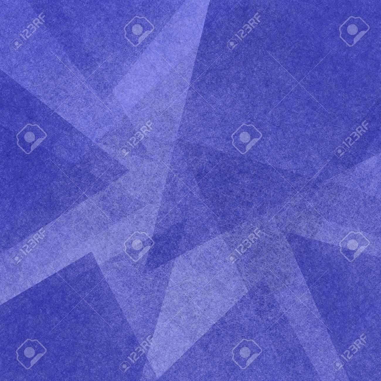 blue abstract background with triangle layers in modern geometric pattern - 126549461