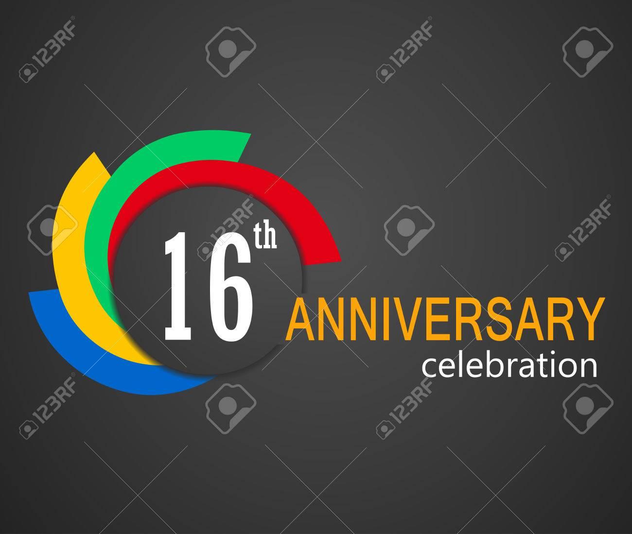 b95c4f509b4ea 16th Anniversary Celebration Background