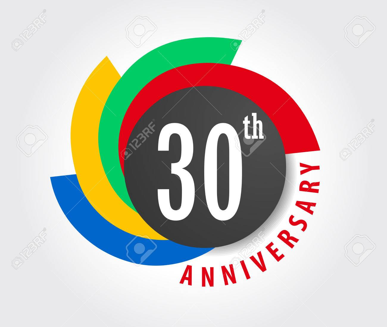 30th anniversary celebration background 30 years anniversary