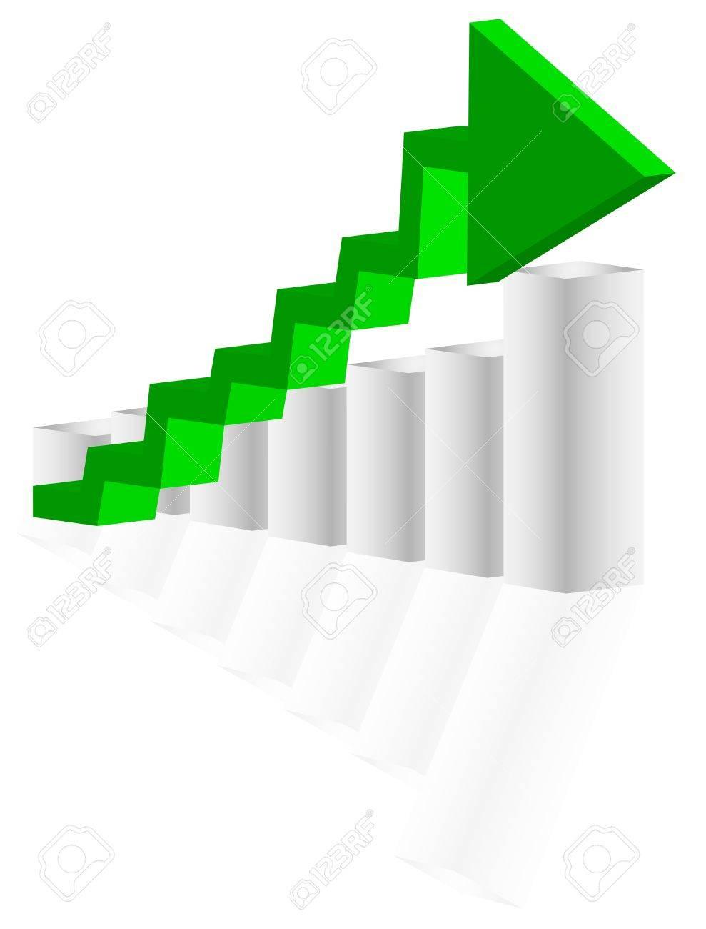 Green arrow Stock Vector - 8769658